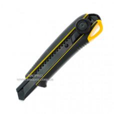 Нож TAJIMA сегментный 18 мм, Driver Cutter Elastomere, винтовой фиксатор
