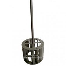 Венчик-насадка SEMIN для краски, 67 мм*325 мм