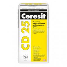 Смесь CERESIT CD 25 ремонтно-восстановительная мелкозернистая, 25 кг