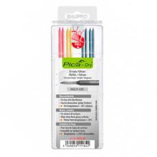 Сменные грифели PICA Dry водорастворимые MULTI-USE, цветные (8 шт)