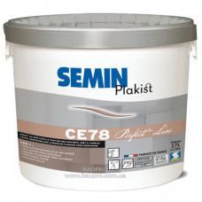 Покрытие SEMIN CE 78 PERFECT LISS для ручного и машинного нанесения, 17 л