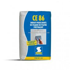 Шпаклевка SEMIN CE 86 для заделки швов без армирующей ленты, 5 кг