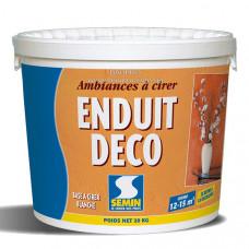 Шпаклевка SEMIN ENDUIT DECO структурно-декоративная полимерная, 20 кг