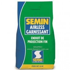 Шпаклевка SEMIN AIRLESS GARNISSANT финишная безвоздушного распыления, 25 кг