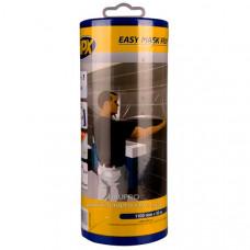 Пленка защитная HPX укрывочная с малярной лентой в диспенсере, 1100 мм*33 м