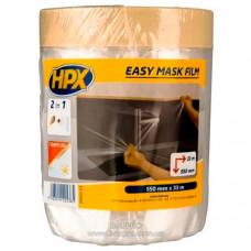 Пленка защитная HPX с малярной лентой, 550 мм*33 м