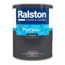Краска RALSTON Pro Clean 7 BTR матовая для стен, для внутренних работ, 0,9 л