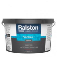 Краска RALSTON Pro Clean 7 BTR матовая для стен, для внутренних работ, 2,25 л