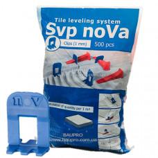 Зажим NoVa SVP 1 мм, (500 шт)