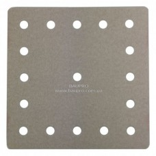 Набор шлифовальной бумаги SEMIN для плоской затирки (бумага, зерно 240), 200*200 мм (10 шт)