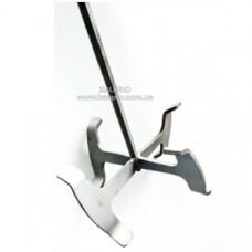 Венчик-насадка SEMIN для перфоратора под шестигранник (Ø123 мм, лопасть h100 мм)