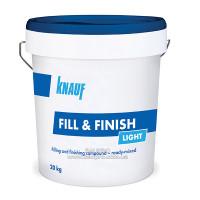 Шпаклевка KNAUF Fill & Finish Light (Фил и Финиш Лайт),  винило-полимерная, 20 кг