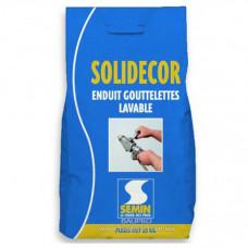 Шпаклевка SEMIN SOLIDECOR LAVABLE декоративная моющаяся для машинного нанесения, 25 кг