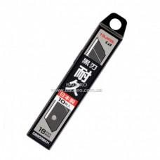 Лезвия TAJIMA PREMIUM DORA Razar Black Blades, 18 мм, черные (10 шт)