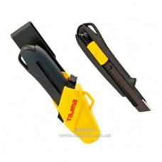 Нож TAJIMA сегментный строительный 18 мм, DRIVER 560 с кобурой, автофиксатор